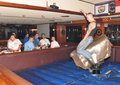 Riding the Bull at Nashville
