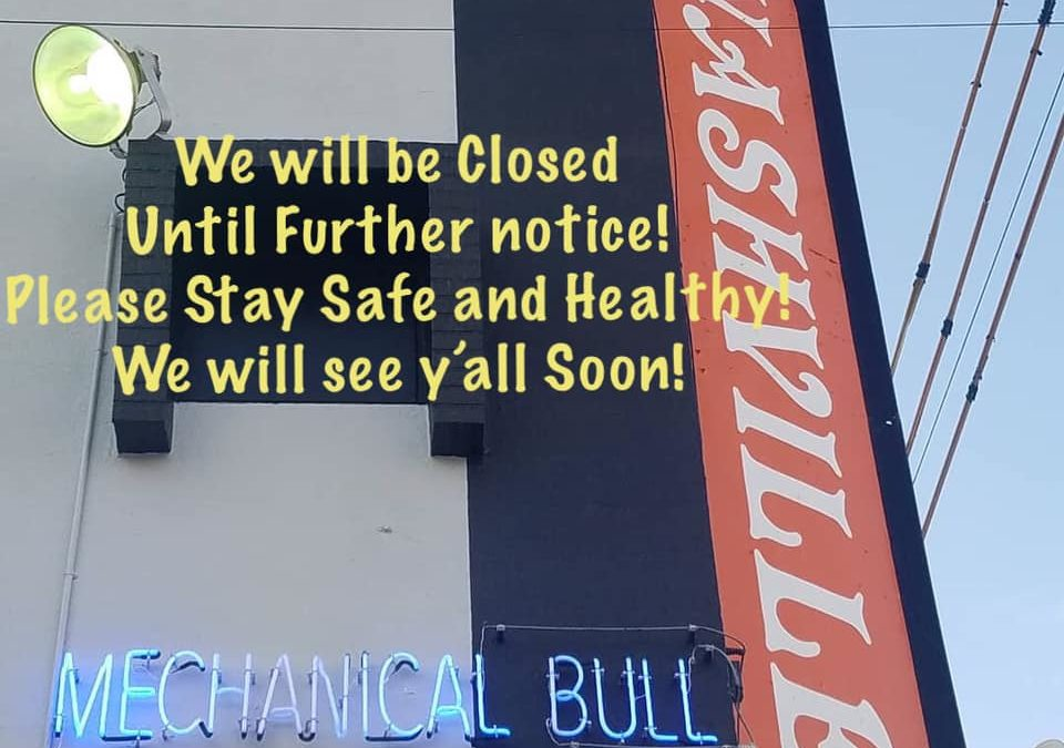 Nashville Closed Notice
